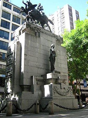 Estatua de Manuel Dorrego