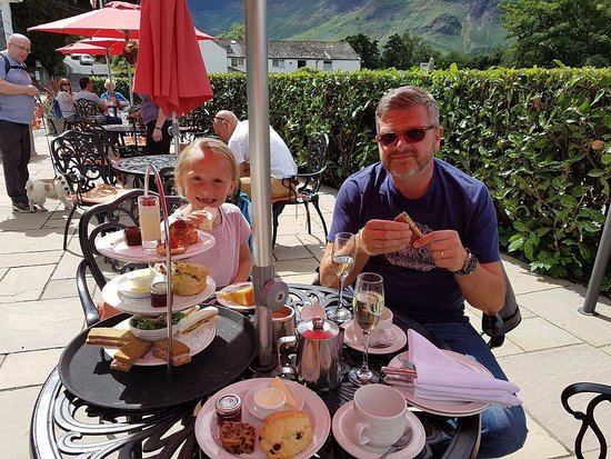 Lodore Falls Hotel: Afternoon tea one of the best