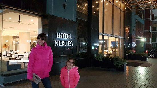 Hotel Neruda: Lindo hotel buena ubicación