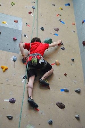 Willsboro, NY: 20 Foot Climbing Walls!