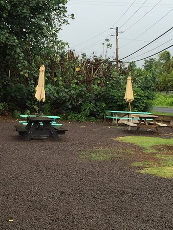 Lawai, Hawaï: If you love coffee and you want a barrista to put a lot of care into a latte, which I ordered th