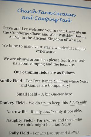 Sixpenny Handley, UK: the strange and confusing leaflet we received