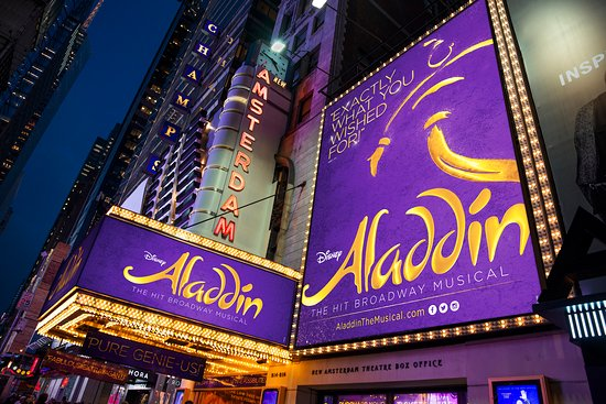 Aladdin The Musical New York City 2018 All You Need