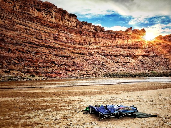 Moab Adventure Center - Day Tours: Our 5 star accomidations under the stars