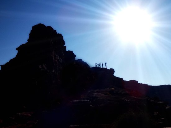 Moab Adventure Center - Day Tours: a hike from one side of the river to the other...breathtaking views
