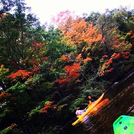 Mount Pleasant, MI: Double kayak on the Chip last fall..