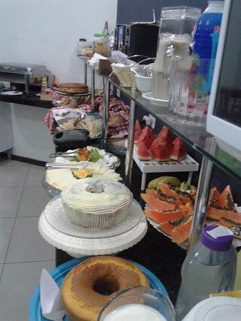 Apiai, SP: Café delicioso do Burkner  Hotel