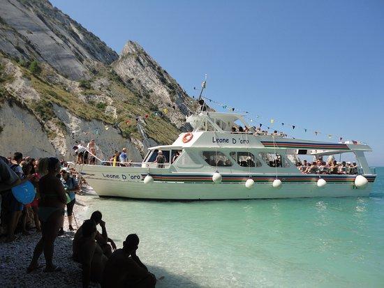 Traghettatori Riviera del Conero: Uno dei traghetti
