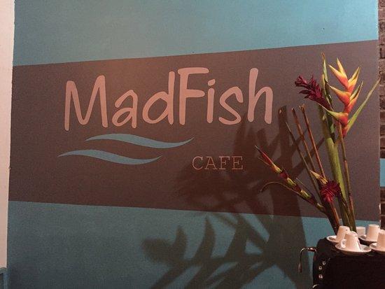 San Rafael de Escazu, คอสตาริกา: MadFish cafe