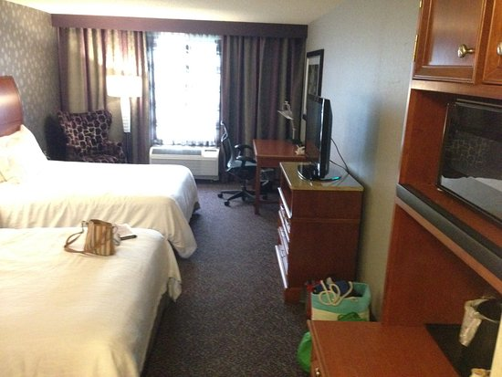 Hilton Garden Inn Springfield: the room