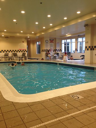 Hilton Garden Inn Springfield: pool area