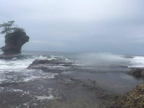 Punta Uva, كوستاريكا: Famous rocks near Punta Uva
