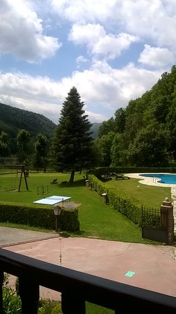 Hotel La Coma: Vista desde la terraza común