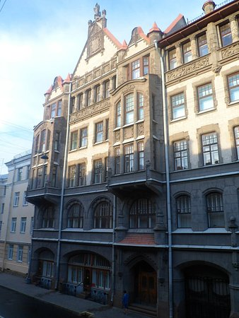 Underground Hostel: Вид из окна на Вознесенский проспект