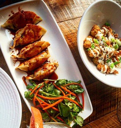 ลาฮาสกา, เพนซิลเวเนีย: Lobster Dumplings & Rock Shrimp