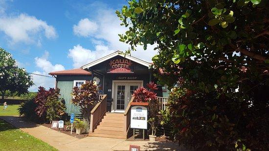 Kalaheo, HI: Visitor center and gift shop