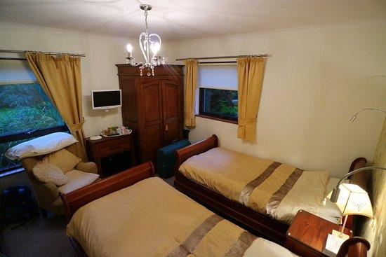 Tyddyn Perthi :  Twin-bedded room
