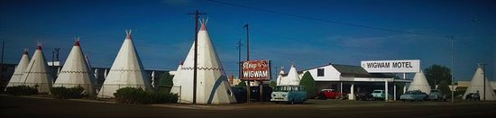 Wigwam Motel: The Wigwam in all its glory