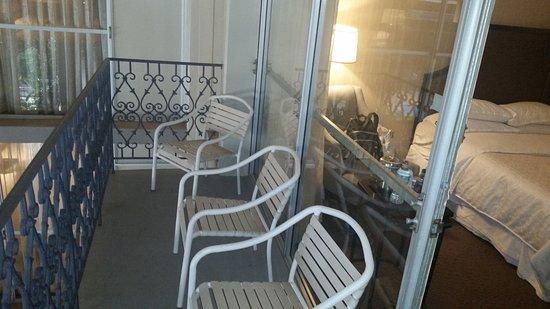 Sheraton Atlanta Hotel The Balcony