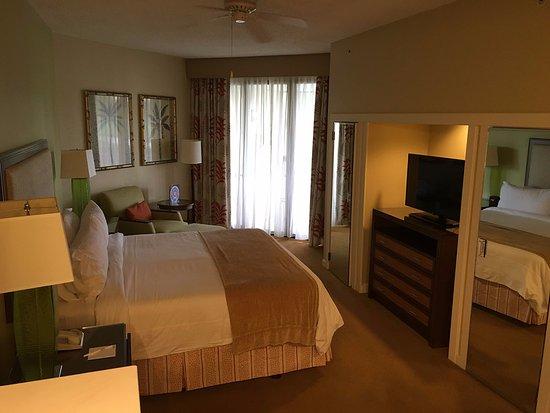 Marriott's Sabal Palms: Master Bedroom