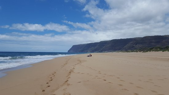 Polihale State Park: Secluded and beautiful.