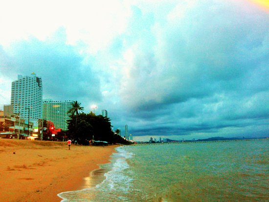 Jomtien-Morningstar Guesthouse: view of the surrounding area
