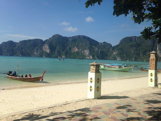 Andaman Beach Resort : vista café da manhã