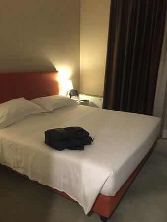 BEST WESTERN Hotel Milton Milano: 出張で2泊使いました。 部屋は窮屈なく、大きなトランクも開けるのに十分なスペースを確保できます。 バスタブのある部屋はリクエストすれば相手さえいれば追加料金無しで変更して貰えます。部屋が少し暗