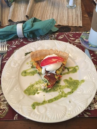 At Journey's End Bed & Breakfast: Second breakfast course