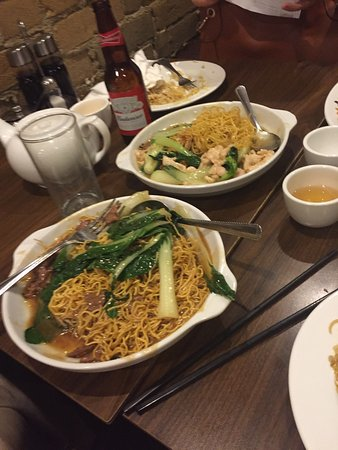 New Ho King Restaurant: This was the food that we sadly left behind due to huge portion size and poor taste