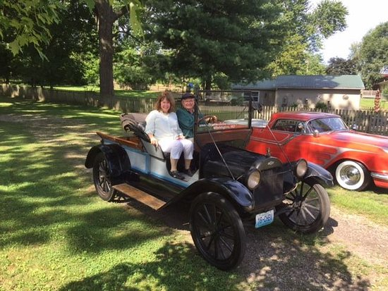 Brick Inn Bed and Breakfast: An unexpected ride in a '16 Chevy.