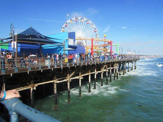 The Hotel California: Santa Monica Pier