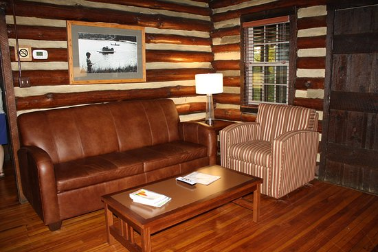 Warm Springs, Géorgie : living room with sofa bed