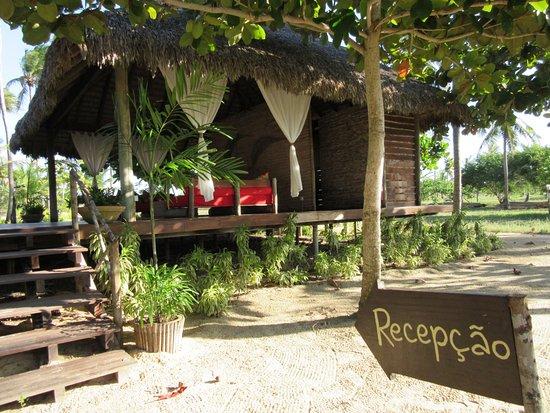 Rancho do Peixe: Recepção sem paredes!