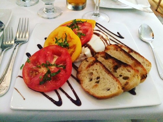 Beacon Room: Caprese Salad w/Buratta