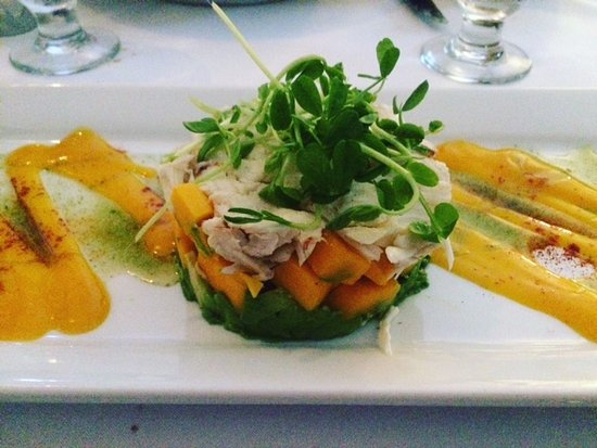 Beacon Room: Lump Crab, with Mango & Avocado
