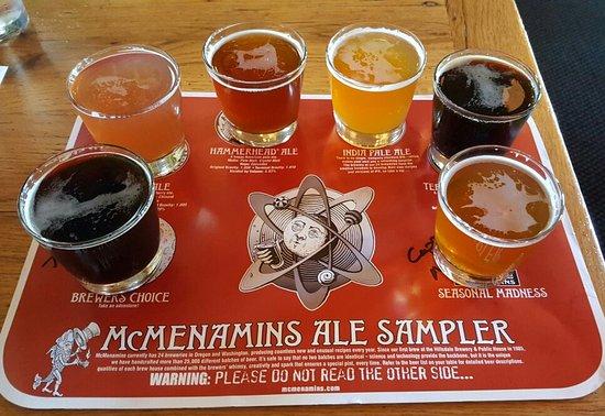 Roseburg, OR: Beer sampler