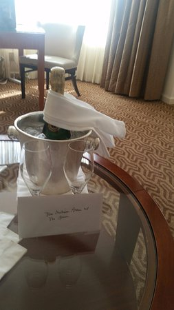 Four Seasons Hotel Houston: Special Amenity for our anniversary..THANK YOU