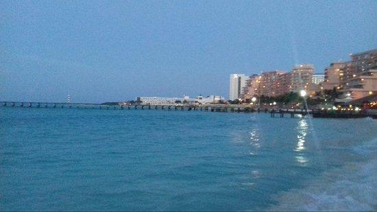 Playa Caracol: Final do dia...