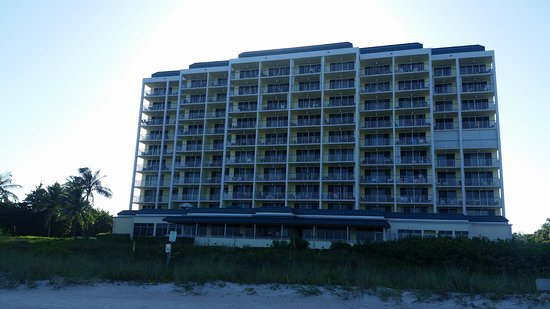 Apollo Condominiums: Apollo 910- View of condo from beach