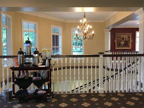 Mount Vernon Grand Hotel Spiral Staircase