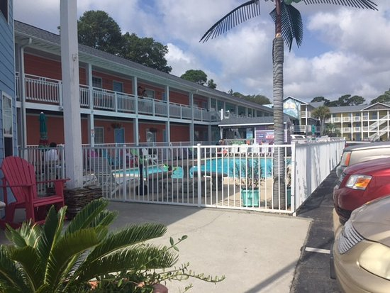 Drifters Reef Hotel : Motel and pool