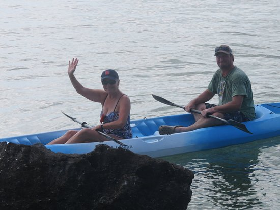 Tarpum Bay, Eleuthera: Kayaking from Down by the Seaside