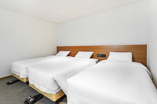 Busan Tourist Hotel: 슈페리어 트리플