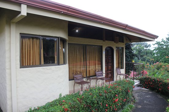 All rooms had outdoor seating - awesome to sit and coffee in the morning or glass or wine in the