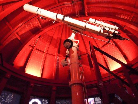 Round Kulesi: 屋上にあった天体望遠鏡