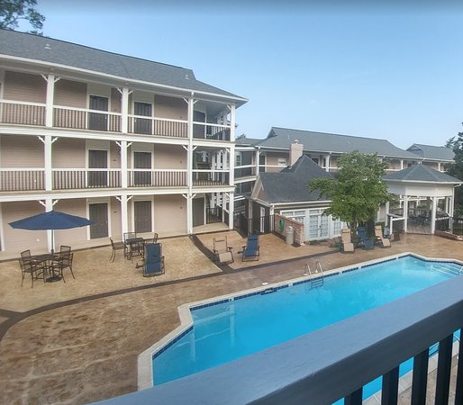 Anniston, AL: View overlooking the pool
