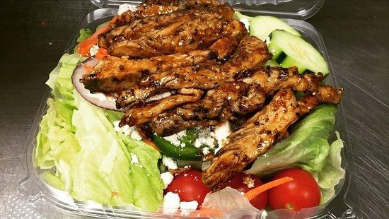 เมทูเอน, แมสซาชูเซตส์: Teriyaki Chicken Salad