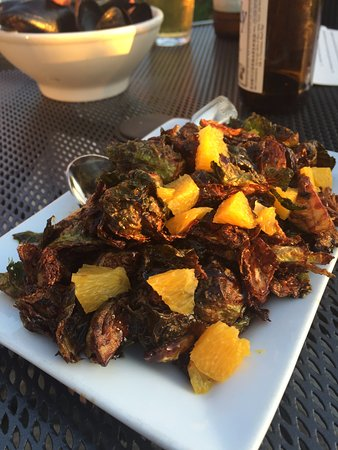 Camano Island, Etat de Washington : Hoisin Brussel sprouts