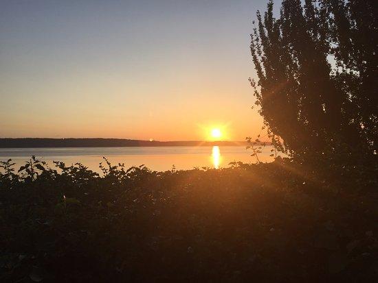 Camano Island, วอชิงตัน: Sunset